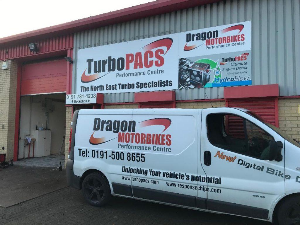 Dragon Motorbikes Van